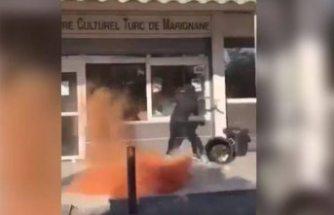 Fransa'da PKK sempatizanları Türk Kültür Merkezi'ne saldırdı