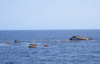 Göçmenleri taşıyan tekne alabora oldu: 34 kişi öldü