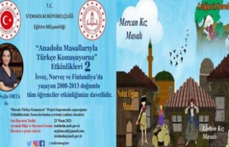 İsveç, Norveç ve Finlandiya'da yaşayan gurbetçi çocuklar  için masallarla Türkçe öğrenme imkanı