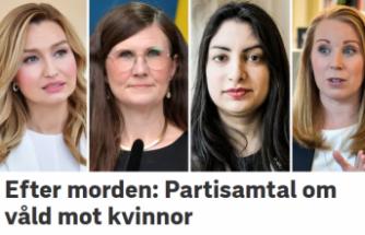 İsveç'te arka arkaya 3 kadının öldürülmesi kadın siyasetçileri isyan ettirdi