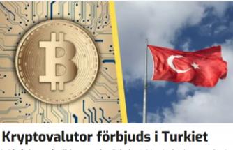 Kripto para ile ödeme işlemleri yasaklandı