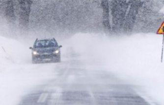 SMHI'den etkili kar yağışı uyarısı