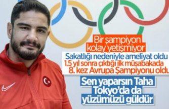 Taha Akgül: Sakatlıktan sonra ilk altın madalyam, çok mutluyum