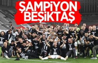 2020-2021 sezonu şampiyonu Beşiktaş