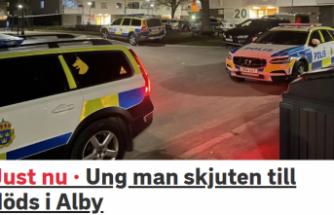 Alby'de bir genç öldürüldü