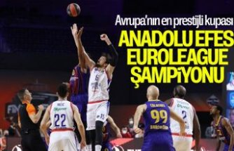 Barcelona'yı mağlup eden Anadolu Efes EuroLeague şampiyonu oldu