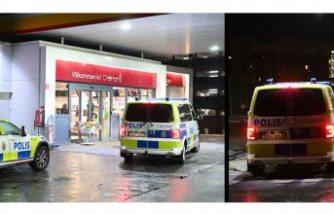 Benzin istasyonunda silahlı soygun
