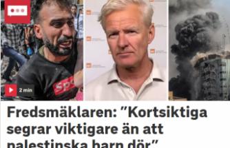 Jan Egeland: ''Kısa vadeli zaferler, Filistinli çocukların ölmesinden daha önemli''