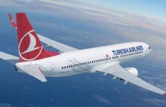 THY uçağı füze tehlikesi nedeniyle geri döndü