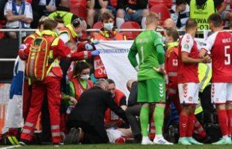 Danimarka Finlandiya maçında üzücü olay! Bir futbolcu kalp krizi geçirdi