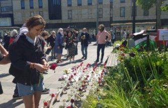 İsrail saldırılarında ölen çocukların fotoğrafları İsveç'te sokakta sergilendi