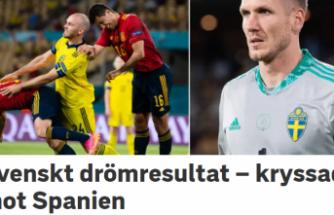 İsveç zoru başardı, İspanya'dan 1 puan aldı