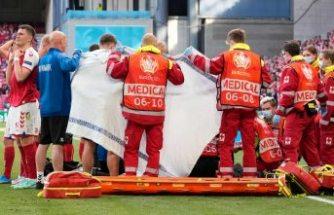 Kalbi duran Eriksen hayata döndü! Euro 2020'de korkutan anlar...