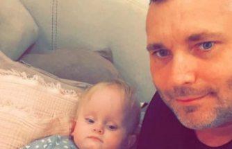 Alicia bebeğin babası  Ted Nyquist Alanya'da toprağa verildi