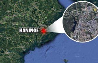Haninge'de bir kişi bıçaklandı