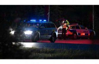 Södertälje'de feci kaza: 1 ölü, 4 yaralı