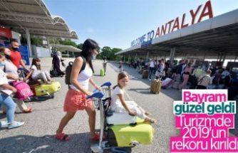 Turizmde 2019'un rekoru kırıldı