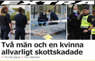 İsveç'te silahlı saldırı: 3 kişi vuruldu