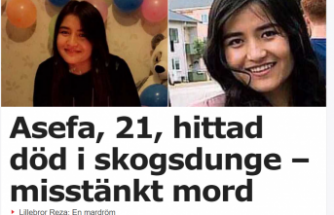 İsveç'te bir torba içinde insan cesedi parçaları bulundu