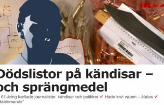 İsveç'te büyük faciadan dönüldü: Politikacı ve gazetecileri öldürecekti