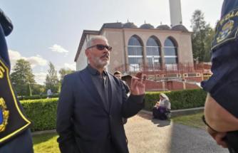 Stockholm'de Fittja Ulu Camisi'nde vatandaşlara  Kovid-19 aşısı yapılacak