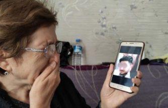 19 yıl önce gurbete evlatlık verdiği oğlunu sosyal medyada gördü