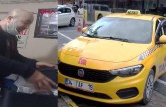 Gurbetçi bagajda 1.7 milyon TL'sini unuttu örnek taksiciler parayı ulaştırdı
