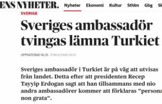 İsveç'in Ankara Büyükelçisi Türkiye'de istenmeyen ilan edilecek ve ülkesine gönderilecek