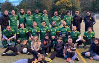 İsveç'te gurbetçi Türklerin kurduğu futbol takımı fırtına gibi esiyor