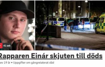 İsveç'te ünlü sanatçı öldürüldü