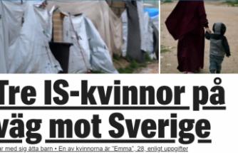 İsveçli 3 DAEŞ'li kadın İsveç'e dönüyor
