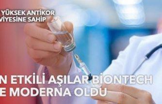Üçüncü dozda en etkili aşı belli oldu: BioNTech ve Moderna