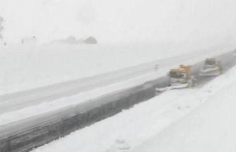 İsveç'te kar özlemi duyulurken, Doğu Asya'da binden fazla araç kar altında kaldı