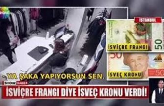 Türkiye'de en çok karıştırılan İsveç ile İsviçre bu sefer alışverişte kendini gösterdi