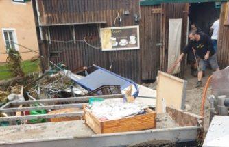 Avusturya'da sele kapılan Türk çiftin hayatını Avusturyalı komşusu kurtardı