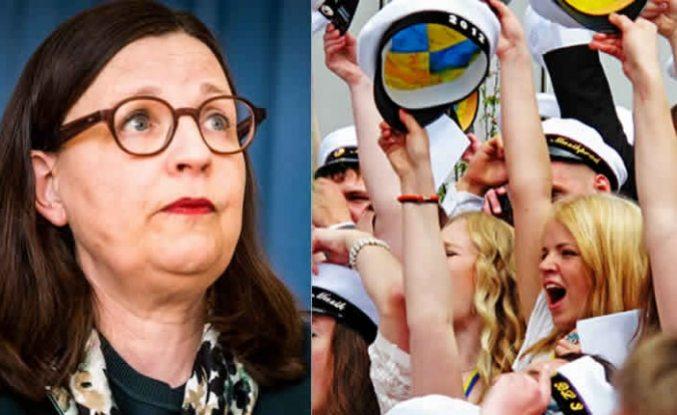 Eğitim bakanı Anna Ekström: Üzgünüm