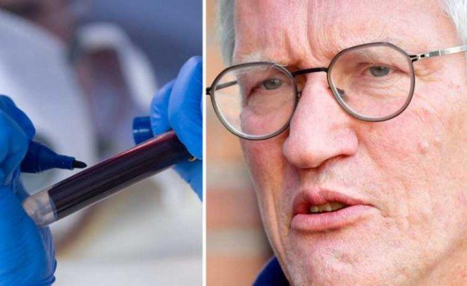 Tegnell: Sürü bağışıklığı enfeksiyonu durdurmak için yeterli değil