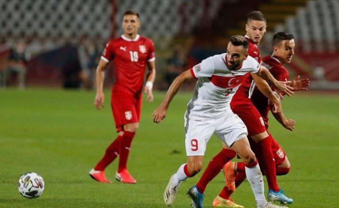 Türkiye UEFA Uluslar Ligi'nde Sırbistan ile berabere kaldı