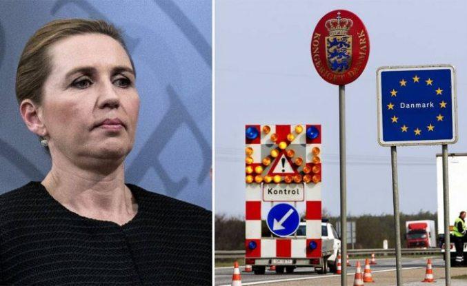 Danimarka artan salgın nedeniyle dünya ile sınır bağlantısını kesti