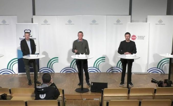 "İsveç'te 3 bin 180 yeni vaka: Tegnell ""durum ciddi"""
