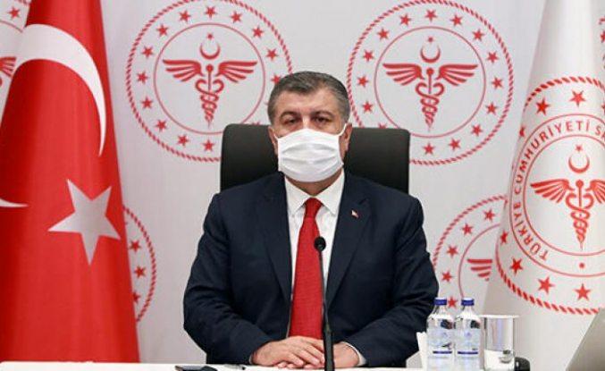 Sağlık Bakanı Fahrettin Koca: Salgın Anadolu'da 2. zirvesinde