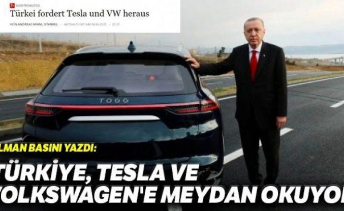 Alman basını: Türkiye yerli otomobille Tesla ve Volkswagen'e meydan okuyor