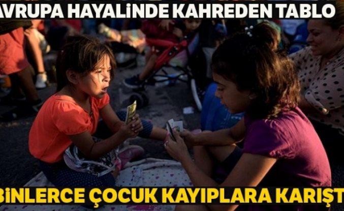 """Avrupa'da 3 yılda 18 binden fazla refakatsiz çocuk göçmenin """"kaybolduğu"""" bildirildi"""