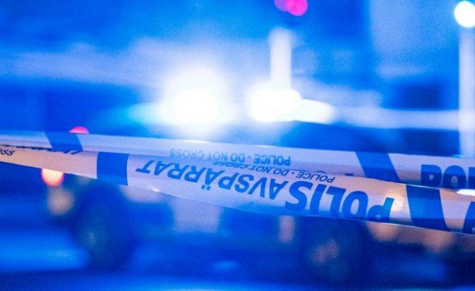 Värnamo'da bir kişi vuruldu