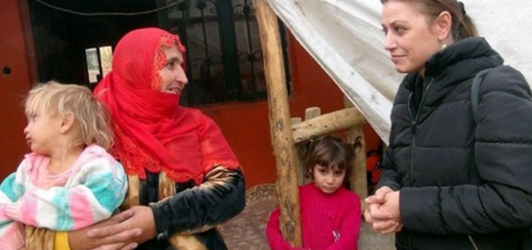 İsveç'ten Yüksekovalı Duman ailesine yardım eli
