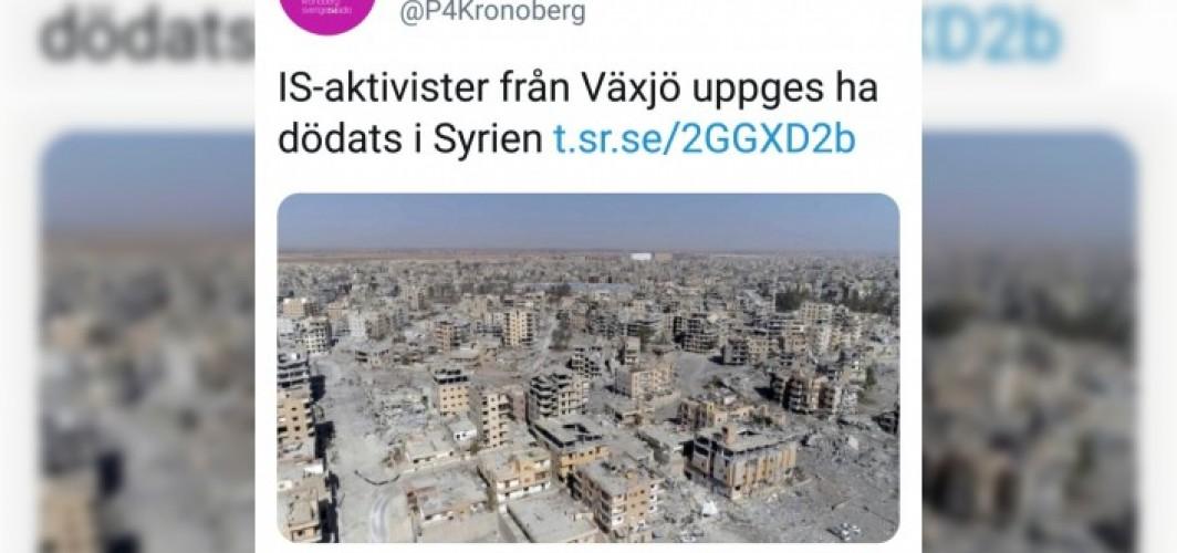 İsveç radyosu IŞİD'li teröristleri, aktivist yaptı