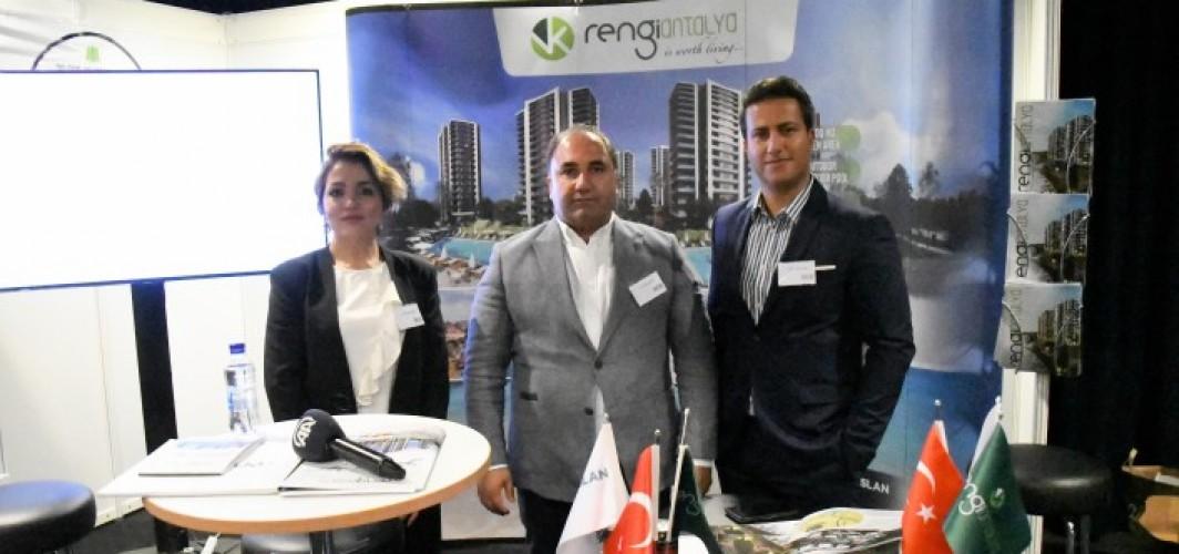Antalya'daki 5 yıldızlı konut projesi İsveç'te tanıtıldı