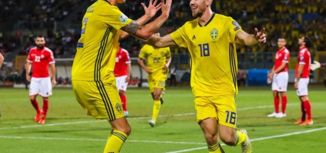 İsveç, Malta'yı deplasmanda farklı geçti! 0-4