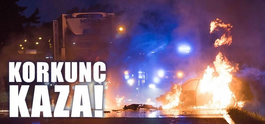 İsveç, yanan araçtan kadını çıkaran kamyon şoförünü konuşuyor