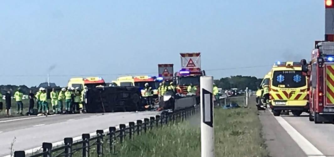 E6 karayolunda kaza 2 yaralı